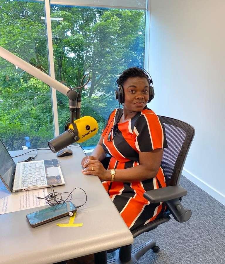 Kemi Jambo Radio presenter